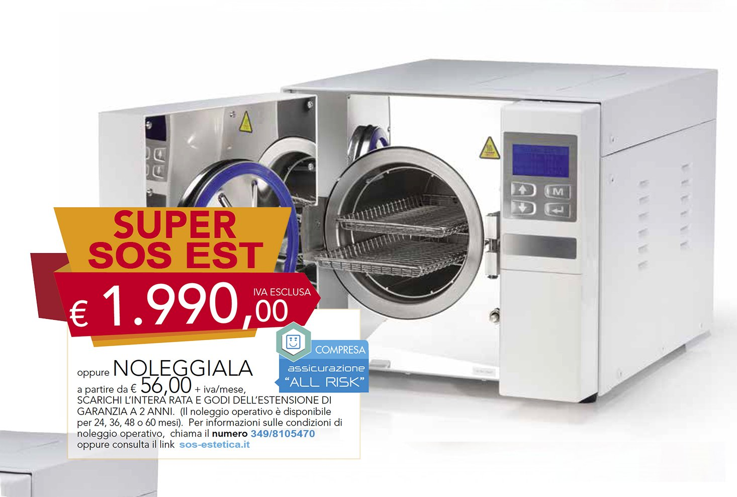 offerta autoclave tipo S